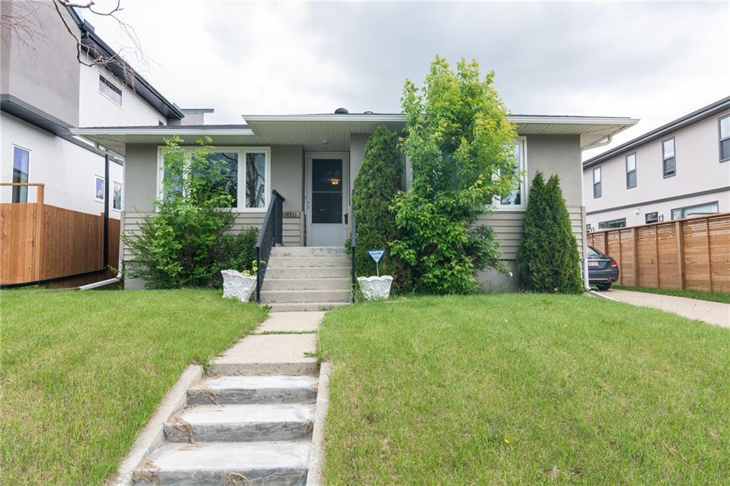 Attention investors and home buyers! cozy 3 bdrm bungalow on a 50*120 lot in Banff Trail. Minutes from Canmore Park and close to U of C, MacMahon Stadium, C-train and other amenities. Built with a bsmt suite (illegal) with separate entry, 2 bdrms, and a 4pc bath. On main level, there are 3 good sized bdrms and another 4pc bath. The house features an oversized single detached garage and has had many upgrades including new windows in 2016, replaced hot water tank in 2017, new stair steps in front of the house and new vinyl floor in 2019. Move in and live or add this property to your investment portfolio as it makes a great investment piece! This perfectly located house will not last long in the market, check it out today!