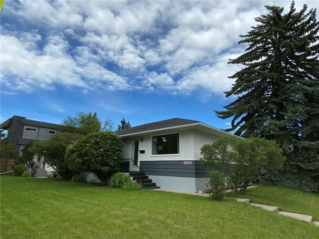 LOCATION! LOCATION!! LOCATION!!! This Updated Bungalow is located on a LARGE 55ft x 120ft CORNER LOT in the Prestigious and Sought after community of Hounsfield Heights/Briar Hill. Walking Distance to North Hill Mall, Professional Building, Home Depot, C-Train, SAIT, Short walk to Foothills Hospital, McMahon Stadium, University of Calgary and much more! Upgrades include a newer renovated Kitchen, newer bathrooms, refinished Hardwood Floors, Upgraded Electrical, Newer Higher Efficiently Furnace, Tankless Hot Water, etc. Main level has 3 bedrooms, 1 full bath, while the basement has a rec room, large storage room, 2 rooms that are currently used as bedrooms and 1 full bath