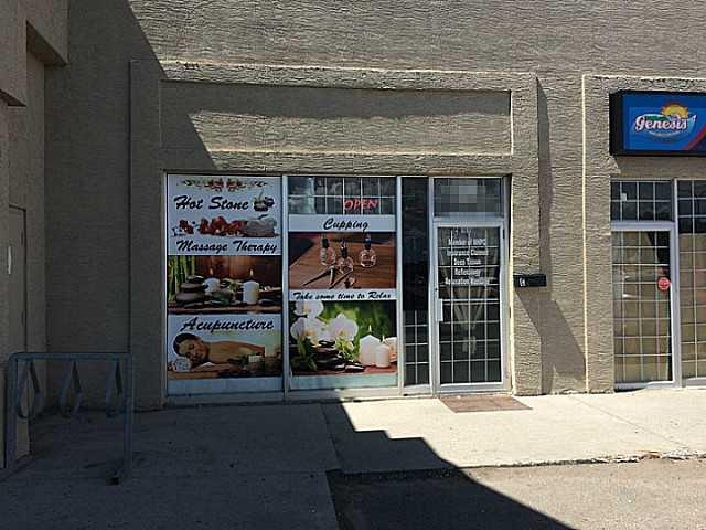 Fantastic Turnkey opportunity! This Massage therapy is located in one of the busiest strip mall on 17 Ave SE. There are 3 private rooms for facial and massage therapy, 2 with shower, staff room, bathroom and laundry room. Rent is $2470 included operating cost, property tax and GST. Lease 4 1/2 years left plus 5 years renewal option. Specializing in personal massage, accidental injury massage and body relax. Serious inquiries only please. Please do not approach staff. All tours by appointment only.