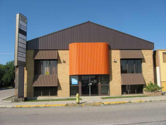 Office complex with 10 office spaces for lease{60% are leased currantly}. Office sizes vary from 145 sq ft up to 1130 sq ft.The building has had many upgrades new peaked roof, new heating system and hot water system, new carpets, and freshly painted, and upgraded bathrooms with water saver toilets.  Lease  rate $10.30 per sq ft plus $7.00 maintainance fee.