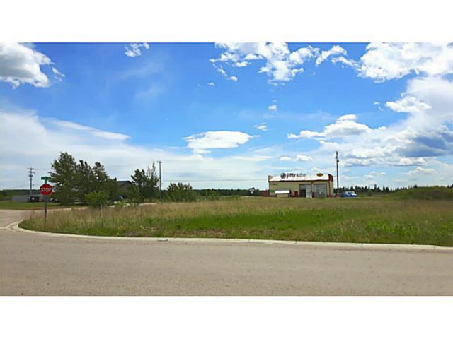 Beautiful lot in Sundre zoned Light Industrial. Services to the lot. Larger oversized corner area of 1.22 acres. This lot is in the recently developing area in front of the popular Jiffy Lube, and across from the Outwest Truck and Car Wash, which will get it lots of attention from traffic passing by! Enjoy the mountain view to the West as well as the level land for a building site! The potential for a popular business in this area is endless! Call for a viewing today before this property is gone!