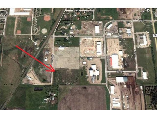 6.72 acres of PRIME INDUSTRIAL LAND located in the TOWN OF OLDS, Alberta.  Town water and sewer to NW corner of lot.  Three phase power along west boundary.  Topsoil has been stripped off and offsite development levies have already been paid. Ideal for a larger Industrial operator or for future subdivision into smaller lots. ALREADY ZONED L1 and ready for immediate possession.