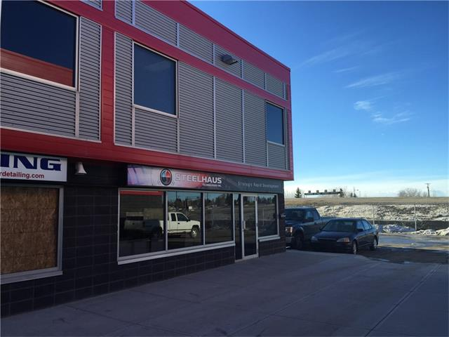 Approx 2900 ft2 of warehouse/shop and 700 ft2 of office space with bonus mezzanine level. Zoned I-G and suitable for automotive and machine shop uses as well as warehousing or contractor. Air conditioned office with 2 washrooms (one has a shower). Private offices and showroom area. Rent works out to $3900.00 per month plus GST and utilities.
