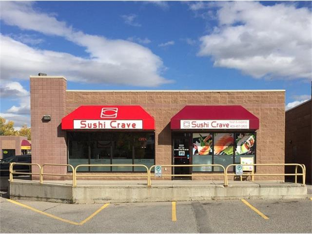 Excellent opportunity for a family run business. This cute Sushi restaurant located in a busy southeast area nearby MacLeod Trail and Sun Valley Blvd. Surrounded by residential communities, and school. It has bright and open concept with large windows, 810 sqft 12 seats TAKE OUT & DINE IN. Please contact for more details. THANKS!