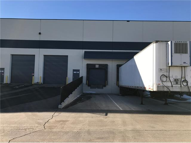 **PRIME location I-G zoned Industrial Condo Warehouse** 10,990 SF in size with 26? ft clear ceiling. 1,125 SF office space built-out. Upgraded 300 amps power, 1 x drive-in (12?14?) door and 2 x dock (8?6? x 10?). Rated 700 lb per sq. ft. concrete slab floor. Easy access from Stoney and Deerfoot Trail. Tours by private booking only.
