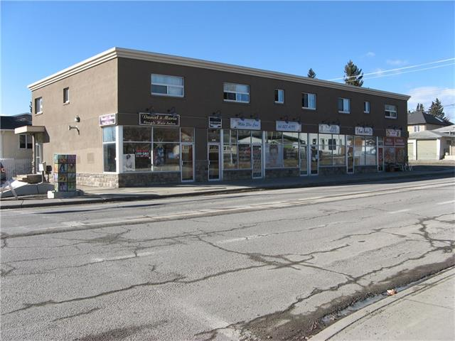 GREAT LOCATION IN THE HIGHLY DESIRABLE NEIGHBOURHOOD OF KILLARNEY ON THE CORNER OF 26TH AVE AND 29TH STREET SW, CALGARY.GREAT MIX OF MAIN FLOOR COMMERCIAL AND LOWER FLOOR .7372 SQ FT OF RENTABLE SPACE, THE UPPER HAS MULTI TENANT, ALL ARE LONG TERM TENANTS. RECENT UPGRADES INCLUDE FULL EXTERIOR INCLUDING NEW WINDOWS. ALSO A NEW FIRE ALARM SYSTEM.