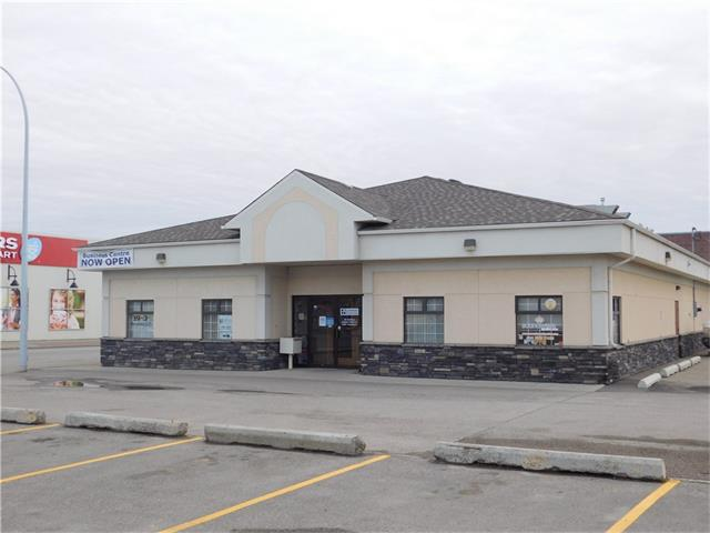 Great office building situated in a high profile location in High River.  Built of ICF with no internal bearing walls.  Ideally suited to any number of uses.  Good parking on 2 sides (owned) and street side as well.  Right across the street from Shoppers Drug Mart - a high traffic location.  Imagine the possibilities for this property - office, retail...
