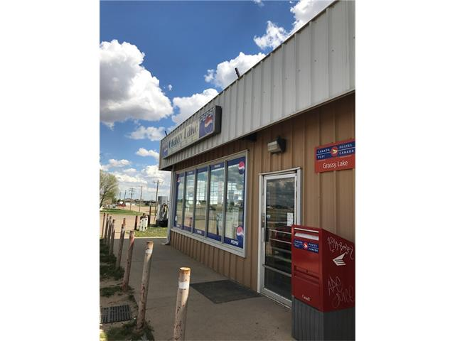 Tremendous potential with this BUSINESS WITH PROPERTY listing. This Listing includes 2 commercial buildings plus a residence of over 1300 square feet. Located just east of Taber are these businesses and house. Currently operating with huge potential is the gas station, convenience store, liquor store, post office and snack bar. Located on busy highway 3 between Taber and Medicine hat, this gas bar has been under-performing. If you are wanting to own your business property and get away from being a rent-slave, please look at this opportunity. In addition to the operating convenience store and gas bar, is another commercial building previously run as a gas station, convenience store, restaurant, and pub! It has been closed for the past 3-4 years due to the same owners phasing into a more retirement lifestyle, but has great potential for similar or new retail concepts. The house included in this listing is behind the non-operating store and a 15 minute drive from the other location (all on highway 3).