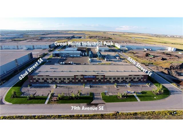 *** Investor Alert *** This Industrial Condo bay was built new in 2015 with a concrete & steel fully built office Mezz. The unit is leased to tenant unit Dec 31, 2020 with 5 year option to renew. Building is of exceptional quality and an excellent long term investment. Full Height Concrete rear wall, 24 feet clear to underside of the roof joists, brick and stucco exterior, 7 assigned parking stalls, Sprinklers/Fire Protection System, Gas fired overhead unit heaters in warehouse, T5 HO Fluorescent warehouse Fixtures, two 4 Ton rooftop HVAC unit per bay, 80 foot marshalling depth in loading area, 3 site-access points (South, East & West). Fully built out  One of the widest units in the complex 33 feet wide. *** Please click supplements tab for brochure ***