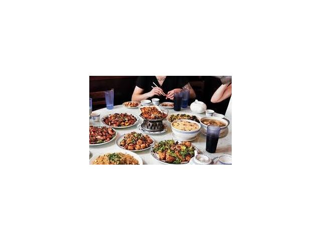 FULLY LICENSE 165 SEAT CHINESE RESTAURANTS. IT'S FAMOUS BUFFET & AUTHANTHIC CHINESE BANQUET MENU .COMMERCIAL CHINESE KITCHEN, LOT OF EQUIPMENT.OPEN 6 DAYS A WEEK 11 AM TO 11 PM (CLOSE TUESDAY)