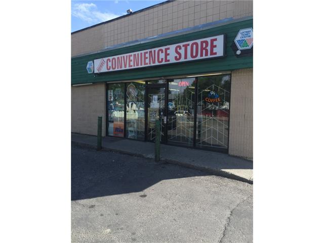 PRICE REDUCED ANOTHER  10K FOR QUICK SALE !!!!!Successful CONVENIENCE STORE  WITH ice cream , hot beverages. Also their is Walk in wet cooler plus another Walk in cooler which can be Walk in Freezer. Butcher Stainless steel saw,deep freezer,coffee machines, Slurpee machines, hot dog maker,pizza Oven . Attractive racking throughout the store .Inventory at cost to be added. AVERAGE DAILY SALE OVER $1000 Don't miss this opportunity,plus lottery,A.T..M. Call today for you private viewing. Enjoy being Your own boss !!! EQUIPMENT OVER 150K TO REPLACE NEW !!!!! Very low Rent !!! well Established Convenience Store located in Rundle Area .Lots of potential . A convenience store selling everyday products including: cold beverages, hot meal ,confectionery, snacks, lottery, cigarettes , Joining Expert to sell  Halal  raw Meats !!!