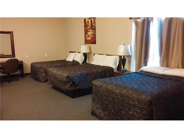 * WELL MAINTAINED AND UPDATED MOTEL WITH 41 ROOMS    * 24 ROOMS BUILT IN 1980 AND RENOVATED IN 2006~2009, 5 ROOMS CONVERTED FROM LIVING QUARTERS IN 2009, 12 ROOMS NEWLY ADDED IN 2010    * LOT SIZE: 6.5 ACRES    * 3 BEDROOM LIVING QUARTERS NEWLY BUILT IN 2009    * RECENT RENOVATIONS INCLUDE NEW PAVING, NEW CANOPY, LIVING QUARTERS UPDATE    * NO COMPETITION AROUND * CURRENT OWNER HAS BEEN SINCE MAY 2006 AND RETIRING * TOWN INDUSTRY: FARMING, RANCHING, OIL