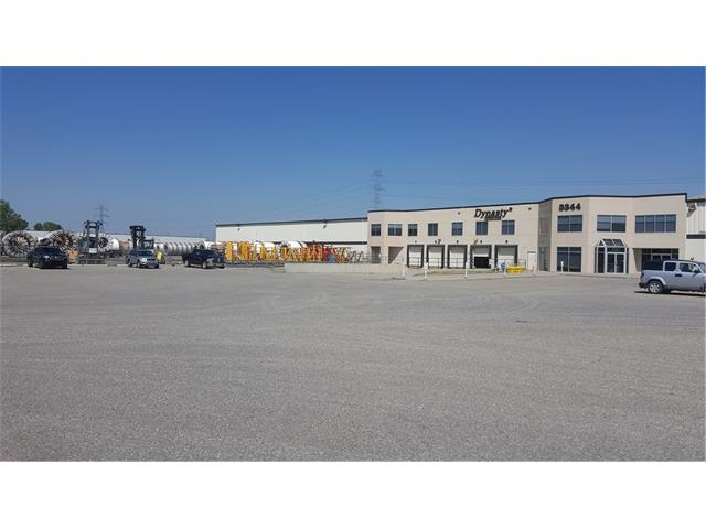 Terrific 8,063 sf warehouse space located in the Calgary SE Foothills Industrial area.   Drive-in door and dock door options available. Easy access to Deerfoot, Stoney and Barlow Tr SE.  Plenty of parking available. See attached brochure and letter of intent to lease.