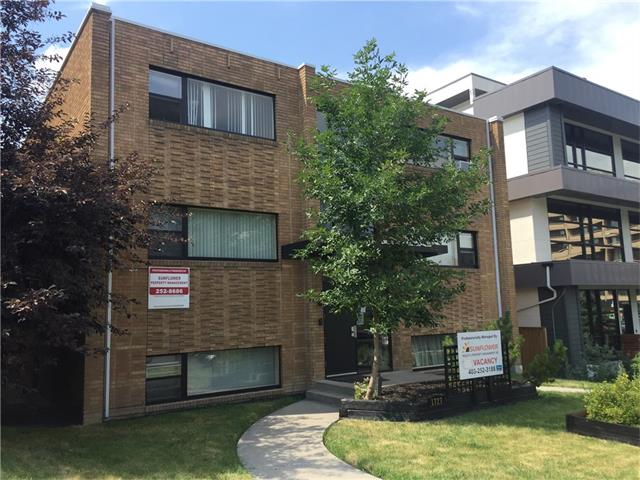 Excellent 12 unit apartment building located in Lower Mount Royal. 8 -2Br and 4 -1BR.  Roof is in excellent condition newer hot water tank and boiler has been well maintained. Many of the units have received cosmetic upgrades in the bathrooms and in the unit flooring. 5 parking spots. Just south of 17 Ave SW amenities and a short walk to the downtown core.