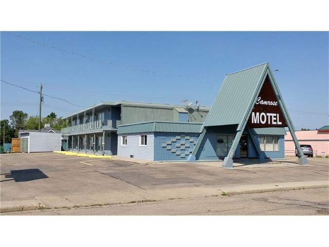 * WELL ESTABLISHED MOTEL    * 20 ROOMS(9 KITCHENETTES)    * 2 BEDROOM LIVING QUARTERS    * EXCELLENT LOCATION AT THE CENTRE OF THE CITY    * RECENT UPDATES INCLUDE ROOF, BATHROOM, FLOORS, PAINTING    * OWNER RETIRING    * 98 KM FROM EDMONTON