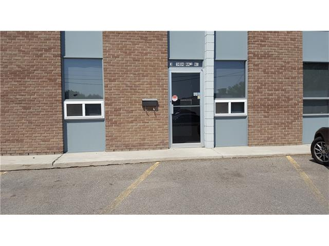 Multi functional 3 Bay Units, each approximately 2,110 s/f for a total of approx. 6,330 s/f on a 5-year term at $8.50 s/f per annum PLUS Op Costs $6.80 s/f per annum.  Op costs include Condo Fees, insurance and taxes.  Two Units have overhead loading door access in back of complex.  Two separate offices located in front of 2 Units.  The 3 Units come with 15 PARKING stalls.  Previously operated as a dog daycare and training facility.  Great Location and easy access to major roadways. The 3 large rooms feature soft mat flooring and can be alternatively used as: a Martial Arts Studio; Tae Kwon Do Studio; Kung Fu Studio and/or a Dance Studio; indoor playground; daycare; and/or gymnastic centre.  Immediate possession available.  Zoned IG.