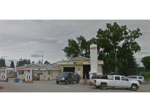 Gas bar, Car wash, C-store, Fast food Kiosk, 6/49. Located in Central Alberta. Great gem on retail business. Gas tank and Pumps were replaced with new double wall fiber glass in 2010. Pay at the pump system and Gas tank is monitored in real time.