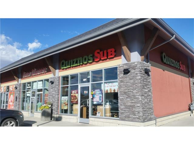Very good established Quiznos in Airdrie. Well known franchise for over 5 years with excellent clientele and a great neighborhood. Right off of Deerfoot highway entering Airdrie community. Excellent opportunity to run and own your own business. Quizno's franchise also provides training and management skills to enhance your business. Very good cash flow - Extra Sales: Catering/Delivery.