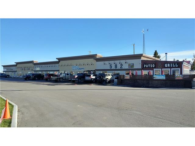 * BRAND NEW STRIP MALL BUILT IN 2013    * FULLY LEASED TO FIVE TENANTS    * TENANTS ARE RESTAURANT WITH STARBUCKS, DENTIST, LIQUOR STORE, HAIR STUDIO, AND OFFICE    * TIM HORTONS AND CENTEX GAS STATION ARE IN THE SAME PLAZA    * CAP RATE: 6.79%    * TRIPLE NET    * RIGHT ON HWY 582 WITH MORE THAN 4,000 VEHICLES DAILY TRAFFIC    * 45 MIN FROM CALGARY