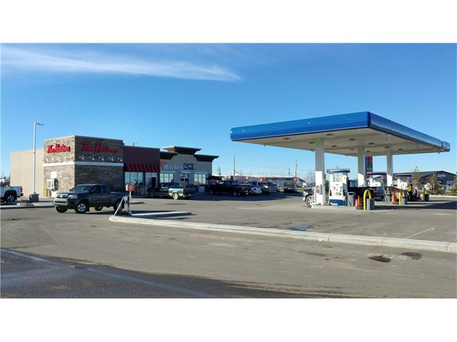 * BRAND NEW STRIP MALL BUILT IN 2014    * OWNER IS RUNNING CENTEX GAS STATION    * ONE BAY IS LEASED TO TIM HORTONS    * RIGHT ON HWY 582 WITH MORE THAN 4,000 VEHICLES DAILY TRAFFIC   * 45 MIN FROM CALGARY