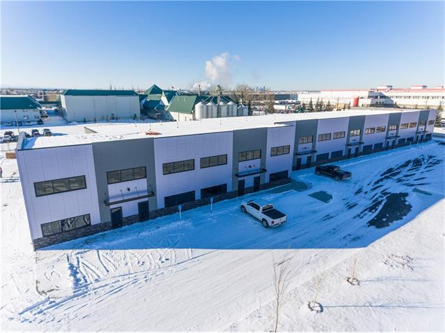 Rare small condominium opportunity in Foothills Industrial Park.  High architectural finishings with two storey windows.  2000sf (25x80ft) units.  Immediate access to Glenmore Tr and Stoney Tr.  Ability for second floor office.  60ft asphalt loading area.  Vendor willing to provide office build out on contract basis.  Phase 2 available for summer of 2018.  Up to 24,000sf available.  Leases are also available.