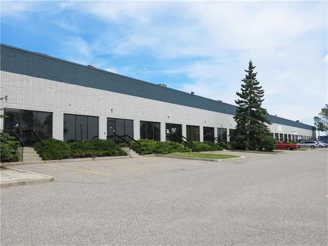 Rare industrial condominium opportunity in the heart of Foothills Industrial Park. Direct exposure to Glenmore Trail and Blackfoot Trail SE. Fully sprinklered block construction building. Ample on site parking, and a well funded reserve through developer.  Unit 9 is also available for 3,025 sf, option to combine units for a total of 8,540 sf for units 8 and 9.