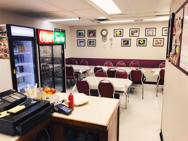 Perfectly located in downtown high rise office building, a collage in the building bring lots students, this ensure you get both breakfast and lunch rush traffic. This cafe/restaurant is around 600 sf. Super low rent $1,000/month including basic rent, operating cost and utilities. New 5 years lease just signed. Currently open 5 days a week serving only breakfast and lunch, but you can easily increase sales by extending hours to serve supper, steady business in this location over 20 years. Owner will provide training. Please do not disturb staff. All tour by appointment only. Thank you!