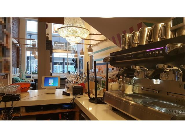 Cozy café on a trendy street close to city centre. Surrounded by condos, galleries and shops. The 1558sf (794sf main floor & 764sf) café is liquor licenced and comes with draft beer cooler and dispenser. Lease is up to renew on Sep 30, 2020 (tenant has option to renew). Gross rent is $28.5/sf or $3700/m