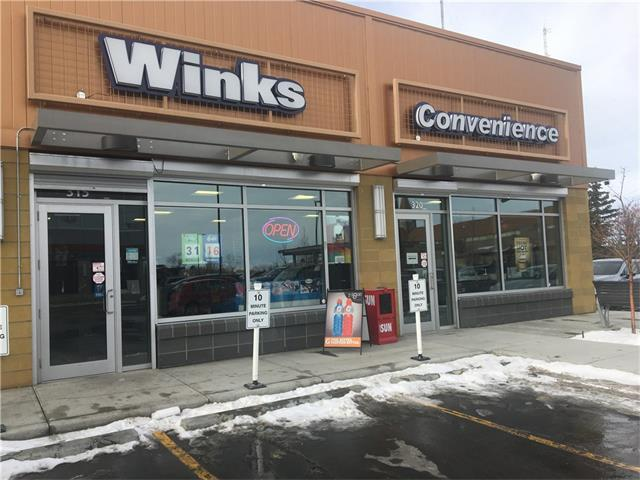 A Gorgeous Wink's Franchise located in West Springs. Wink's Franchise has over 600 locations in Western Canada and is a successful independent franchise chain in Canada. The West Springs Wink's has a great location on 85 St and is next to Cougar Ridge. It is a successful and well maintained Winks Convenience Store. It features: A.T.M machine, cold beverages, confectionery, snacks, lottery games, cigarettes, ice cream, gift items, snacks, slurpees and Acadia Coffee. Attractive racking throughout the store. Don't miss this opportunity, Call today for you private viewing. Enjoy being Your Own Boss in a prominent location.