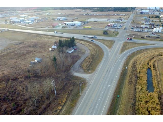 Attention Investors, Land Developers, and Business Owners!!  Don't miss out on this prime piece of development land with commercial zoning on the very busy intersection of Highway 27 and Highway 22 on the highly sought after west side of Sundre, Alberta.   This lot is perfect for any retail development such as a convenience store, gas station, restaurant, or fast food location.  Traffic count on this corner are over 17,100 vehicles per day and jumps to 19,300 per day from May to September!  Site specific studies have been completed to support the viability of retail fuel and convenience store potential.  The owners are willing to consider subdividing to fit a developers request.  Sundre is a proactive community with a diverse resources and tourism based economy, there is strong intent on attracting new business to the town.  Their priority #1 is working with existing businesses to help them remain competitive and healthy.  Book your showing today because this hot property will not be on the market long!!