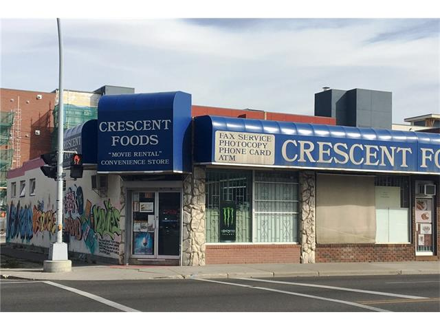 3,100 sf convenience store for sale in a great location - several blocks from Downtown core. This sale includes land, building and business. Call listing agent for more details. Excellent opportunity for an owner operator or developer. Please do not approach staff.