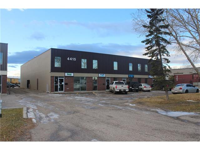 Rare small bay opportunity with outside storage in Foothills Industrial Park.  This 2,250 sf unit features an office component of 560 sf. two private offices, reception and men's / women's washrooms.  The shop totals 1,690 sf with sump and a 14' x 12' overhead door.  There is also a 560' storage mezzanine at no additional cost.