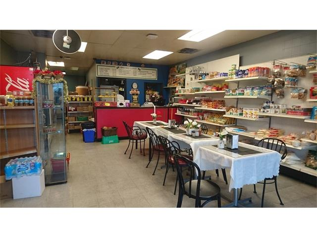 Food Store with full commercial kitchen located at a strip mall on busy Centre street north. This established and stable business is very easy to manage and can be easily converted to other take-out food like Pizza, Donair or Vietnamese restaurant subject landlord approval(No Chinese food). Rent is $3200/month, size 1,150sf, lease 4+5years. Please do NOT disturb staff, tour by appointment ONLY. Thank you.