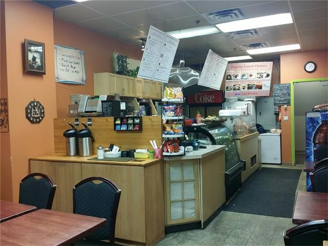 A great deli/sandwich shop located in Downtown commercial Core. It serves home-style Asian hot food and Western Sandwiches mainly for breakfast and lunch-rush office people. Lots of Regulars and walk-ins. Annual Sales is appropriately $160,000 with great potential to grow with catering and online order services. New Commercial Hood installed and monthly rent is $3,400 including utilities and operating cost. Owner has been in business since 2003. Lease is until 2020 Dec 31. The monthly net income is appropriately $3,500.