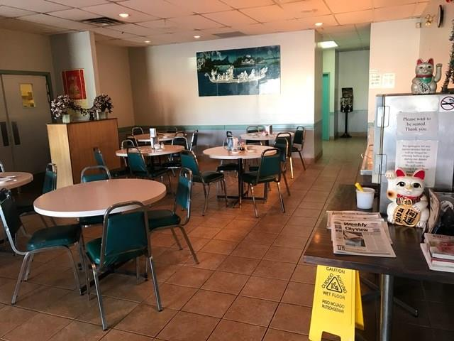 Established & busy sit in and takeout Chinese restaurant in Airdrie with same owners for over 25 years.  Steady and easy to operate restaurant with 6 staff, perfect for Family/Partner ownership.  Business consistently does over $40,000+ per month, with the bulk being take out.  This 3,000SF Restaurant & Lounge has tons of repeat patrons for the Daily buffet items and Bar side has full Liquor license with THREE VLTs and seating for 44 people.  Full Commercial Kitchen with Canopy, walk-in cooler, walk-in freezer and rear door for ease of unloading inventory.  Recently renewed Lease until 2021 with option to renew, and Landlord has suggested building a Patio to boost Lounge sales.  Business is located inside busy plaza with Gas Station, Medical Clinic, Liquor Store, Pharmacy and other Anchor tenants.  May convert to Japanese, Korean or other food concepts, pending Landlord Approval.  Please give 24 hours? notice and do not approach staff.