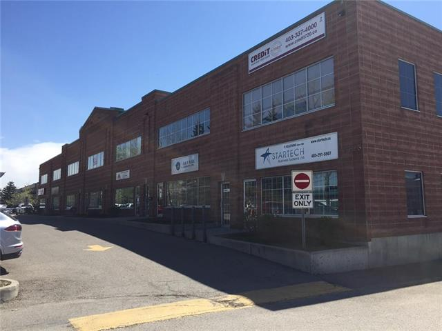 Unit #21 is 1043 ft2 of upper level office space available with a semi-private entrance. Private washroom and 2 assigned parking spaces. This well kept complex is located near Deerfoot Trail, 32 Ave NE and Barlow Trail for easy access. Space is being offered at $8.00 per ft2 and low opcosts ($4.21 est 2017). Utilities are shared with lower tenant on a square foot basis. Rent works out to be $1115.00 per month incl GST, plus share of utilities. (about $100.00)