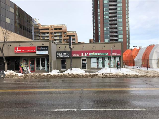 EXCELLENT RETAIL OPPORTUNITY ON THE SUNSHINE SIDE OF BUSY 17 AVENUE SW, RAN FOR MANY YEARS AS A FOOD STORE, PRIME FOR A NEW RETAIL USE, GROSS LEASE PLUS UTILITIES, 3,275 SQ FT, CURRENT TENANT VACATING AS OF APRIL 30, 2018