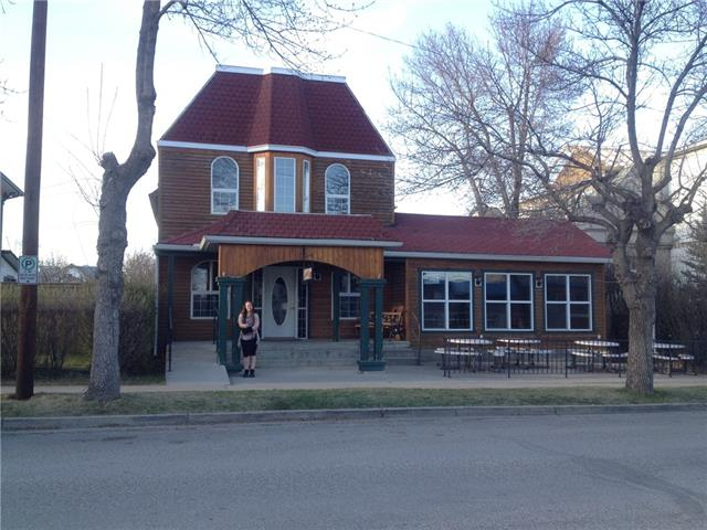 Currently set up as Reminisce Restaurant. Listing is for Building and business with equipment. Business was up and running into January, tenant needed to leave. It would be very easy to start up again. Much of the building had renovations in 2016/2017, seating area still looks like new. Close to $100,000 worth of new equipment added at that time. Kitchen is over 1000 square feet and was added in 2001. Located in the heart of downtown across from the post office on 20 ave (the main road coming into Didsbury). The area upstairs has been used as living quarters or for group functions.  Owner would consider assisting in start up.