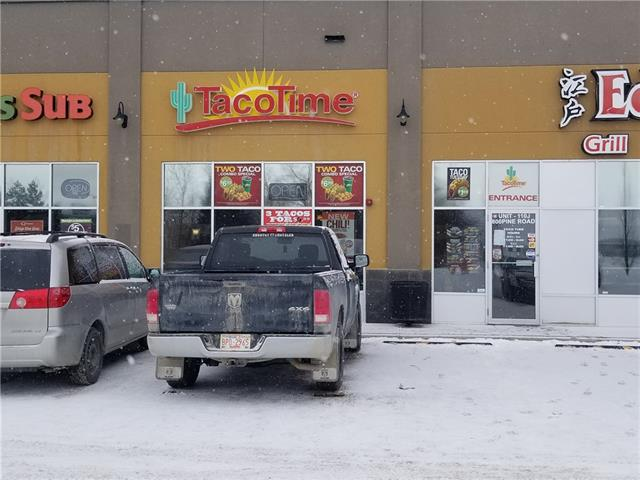 Very Good Taco time fast food Business with potential to grow more. Conveniently located only 20 min east of calgary. Next to  Super store, Canadian Tire, Boston Pizza, McDonald, Tim Horton's, Joyes. Very high traffic area. Sales are strong and very profitable.