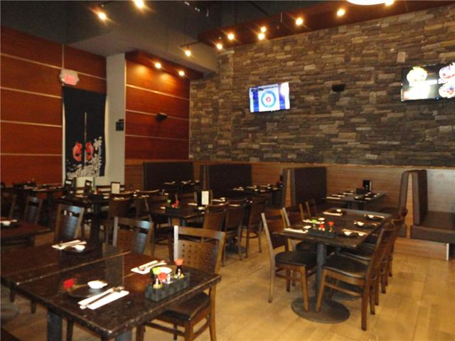5700 sq.ft., FUSION Japanese Cuisine Restaurant, 260 seats excellent location.