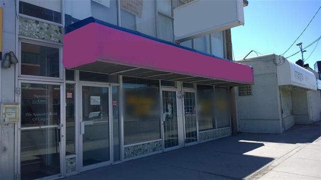 PRIME central location retail space for lease. #101 at 1,500 SF, #103 at 1,123 SF, basic rent $23 per SF. #201 - Upper Floor Office Space approx. 500 SF - $1,500 gross per month. Utilities and operating cost $8.50 PSF is additional. Located on a high traffic intersection along TransCanada highway and Centre St NE. Bus station number 3 and 301 in front, parking at the back and free street parking around the block on 17 Ave and 1st NE. Morning or mid-afternoon showings preferred, all showings by appointment only. *NO liquor store, cannabis, tattoo, pet store and restaurant use.