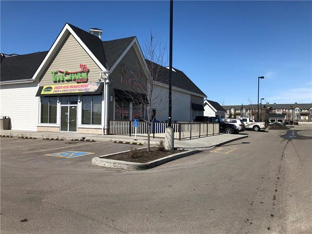 PRIME LOCATION FULLY LICENCE RESTAURANT WITH PATIO LOCATED IN NEWER COMMUNITY IN AIRDRIE, GOOD RENT RATE, CAN EASY TO CHANGE TO OTHER TYPE OF FOOD RESTAURANT, DO NOT MISS THIS GOOD OPPOUNTUNITY.