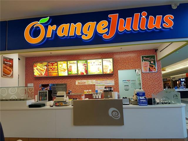 An opportunity to own a family run type of business. A franchised Orange Julius store located in Westbrook mall with lots of traffic. Commercial and residential properties are around. Average monthly sale is $15,000. Rent, utilities and op-cost is $3,770 . This business doesn't require a lot of inventory. Easy to manage. The current owner has run the business for about 10 years. Around $30,000 of renovation/facelift has been recently done.