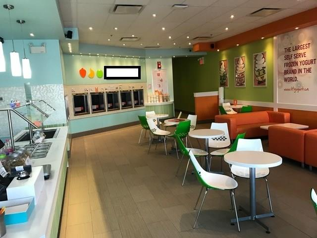 Opportunity to own a national brand franchise of frozen yogurt store in the South part of the city.  2028 sf space. Strip mall location, well known tenants around the same mall, ample parking.  Just renewed 5 years  lease.  Excellent negotiated deal on 5% royalty and zero advertising? much better than the average 10-13% that other franchisors offered.  Established business, low competition, easy to operate due to single line of product.  Owner will train.  Please do not approach staff.  Confidential agreement must be signed before detail info.  24 hour notice on touring, tour during morning hours before 10:30 am only.  Everything is set up, waiting for you to take over, owner retired.