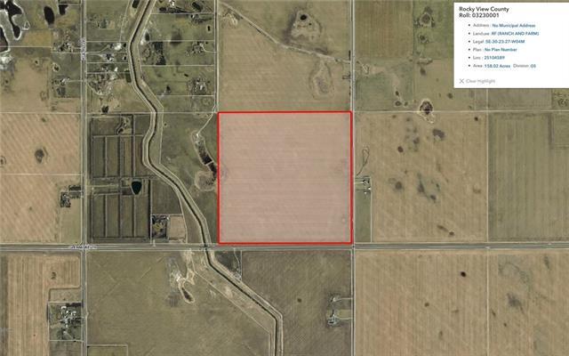 158.02 acres on Glenmore Trail. Presently leased with some lease revenue. Call Realtor for showings. Do not enter land.