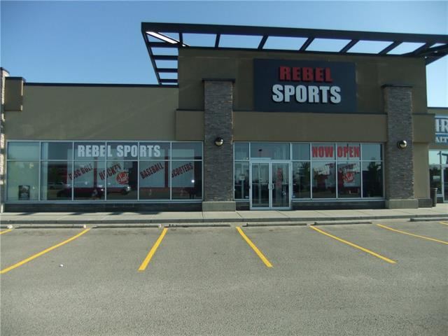 This attractive and spacious Sport Shop is the only dedicated Sports Shop servicing Strathmore and the surrounding area. Ideally located in a newer strip mall and close to a new school opening this fall. 