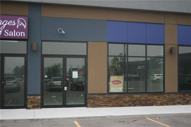 Great location in a growing commercial/retail area, new building, just 1 block from 32 Ave NE, near plenty of great traffic, ideal for all kind of small business. lease is also available, call agent for details.