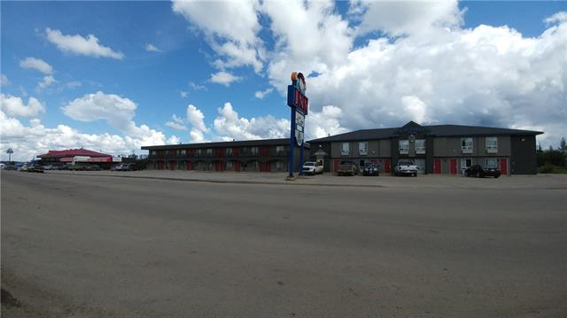 * 91 ROOM MOTEL WITH LEASED RESTAURANT AND PUB    * LOT SIZE: 2.22 ACRES    * MANY RECENT UPDATES    * HIGH TRAFFIC AREA ON HWY 43    * TOWN INDUSTRY: OIL, GAS, FORESTRY    * CURRENTLY ONE OF THE BUSIEST TOWNS IN ALBERTA