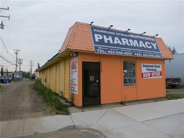 Are you looking for a retail or office space to lease in Carstairs? This might just do the trick! Most recently operated as a pharmacy and a salon previous to that and going back through the years, everything from a cafe, to fitness studio to youth rec center. The building is loosely segregated into three different areas. The front customer service area, rear workshop or whatever else you may need a large open room for and in the middle are 4 smaller rooms that once were home to tanning beds. The front space was recently, very nicely renovated. Security systems are already in place. $14/sf lease rate with tenant arranging and paying for all utilities. All this property needs is your business!