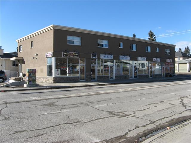 HARD TO FIND THESE MIX USE COMMERCIAL BUILDINGS. GRET LOCATION IN THE HIGHLY DESIRABLE NEIGHBOURHOOD OF KILLARNEY ON THE CORNER OF 26TH AVENUE AND 29TH STREET SW CALGARY.A GOOD MIX OF MAIN FLOOR RETAIL COMMERCIAL AND AND LOWER LEVEL. THE UPPER LEVEL HAS 5 GOOD SIZE 1 BEDROOM UNITS. NEWER UPGRADES INCLUDE FULL EXTERIOR, WINDOWS. AND FIRE ALRM SYSTEM